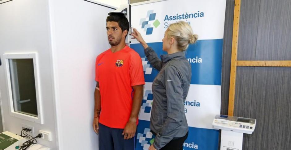 Luis Suárez fue el único de la 'MSN' (Messi, Suarez, Neimar) en asistir. (Foto: FCB.com)