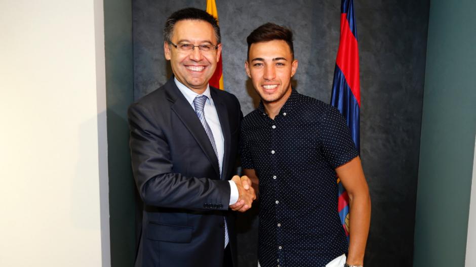 Munir y Samper firmaron hasta 2019. (Foto: FCB.com)