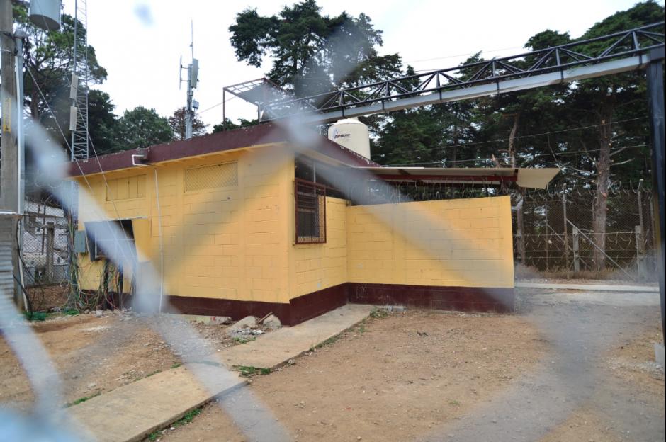 Vista de afuera del lugar que ocupó Byron Lima en Pavoncito y que ahora es ocupado por González  y Monzón. (Foto: Archivo/Soy502)