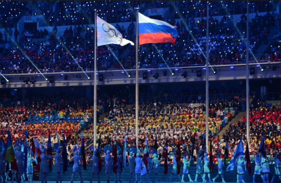 La inauguración de Sochi 2014, cuando inició todo. (Foto: Popsugar.com)