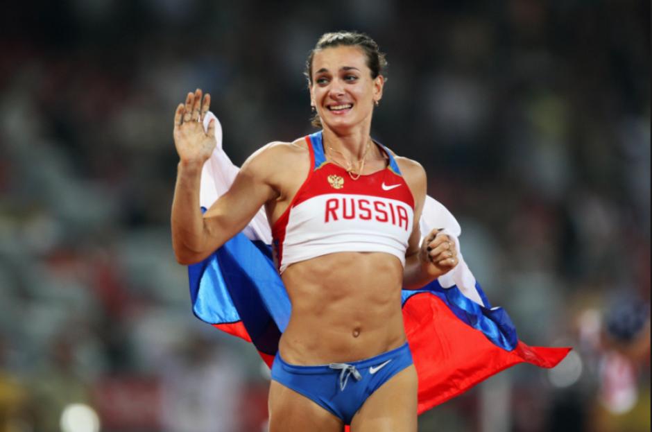 Yelena Isinbayeva, la mejor saltadora con pértiga de la historia, también podría ir a Río. (Foto: Taringa)