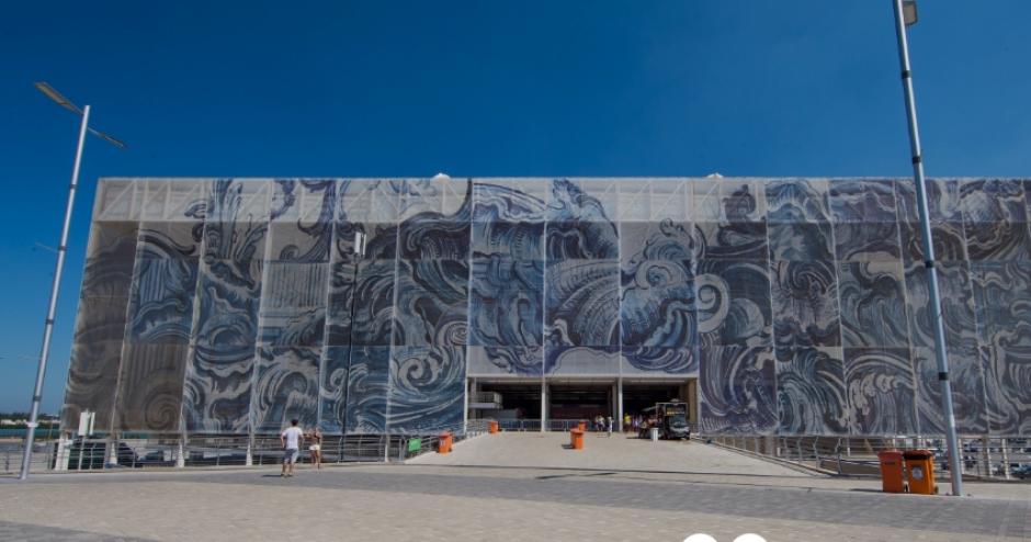 Así se ve el estadio Acuático Olímpico por fuera (Foto: Rio2016.com)