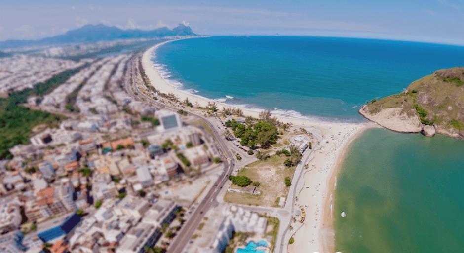 Imagen aérea de Pontal, donde correrán los marchistas (Foto: Rio2016.com)