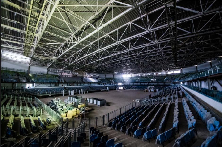 Imagen interna de la Arena de la Juventud, donde Brand y Fernández harán esgrima (Foto: Rio2016.com)
