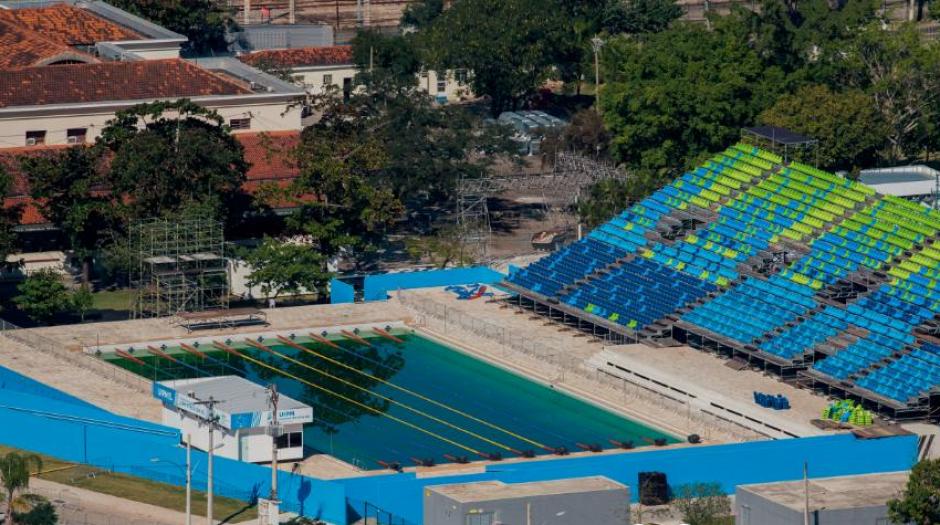 El Centro Acuático de Deodoro, donde nadarán Brand y Fernández (Foto: Rio2016.com)