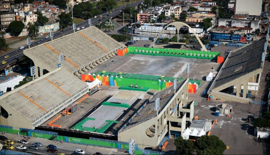 El Sambódromo, donde se llevará a cabo la Maratón de Amado García y Trujillo (Foto: Rio2016.com)