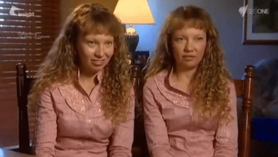 Las gemelas comparten todo, desde su cuarto hasta su trabajo. (Imagen: Captura de pantalla)