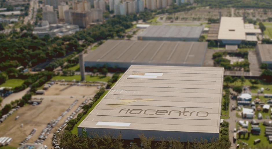 Vista aérea de uno de los pabellones que albergará varias disciplinas (Foto: Rio2016.com)