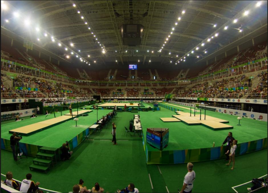 Vista interna de la Arena Olímpica de Río (Foto: Rio2016.com)