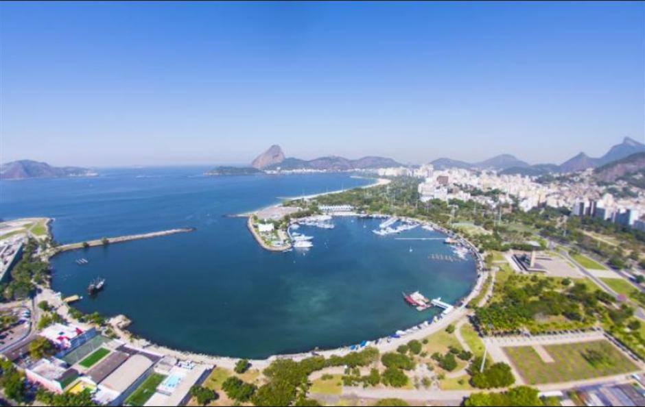 Otra imagen de la Marina de Gloria (Foto: Rio2016.com)