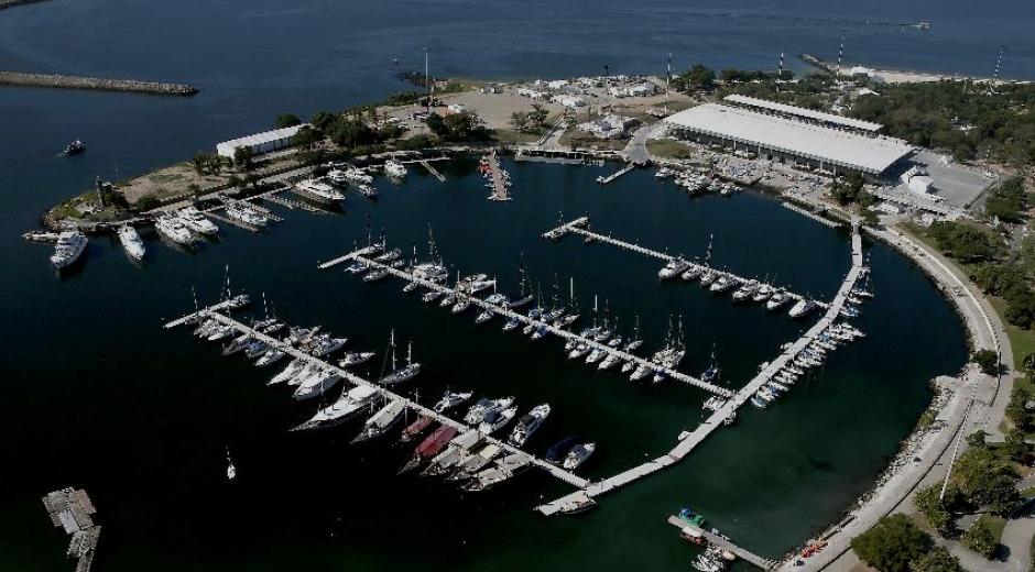 La bella Marina de Gloria, donde competirá Juan Ignacio Maegli (Foto: Rio2016.com)