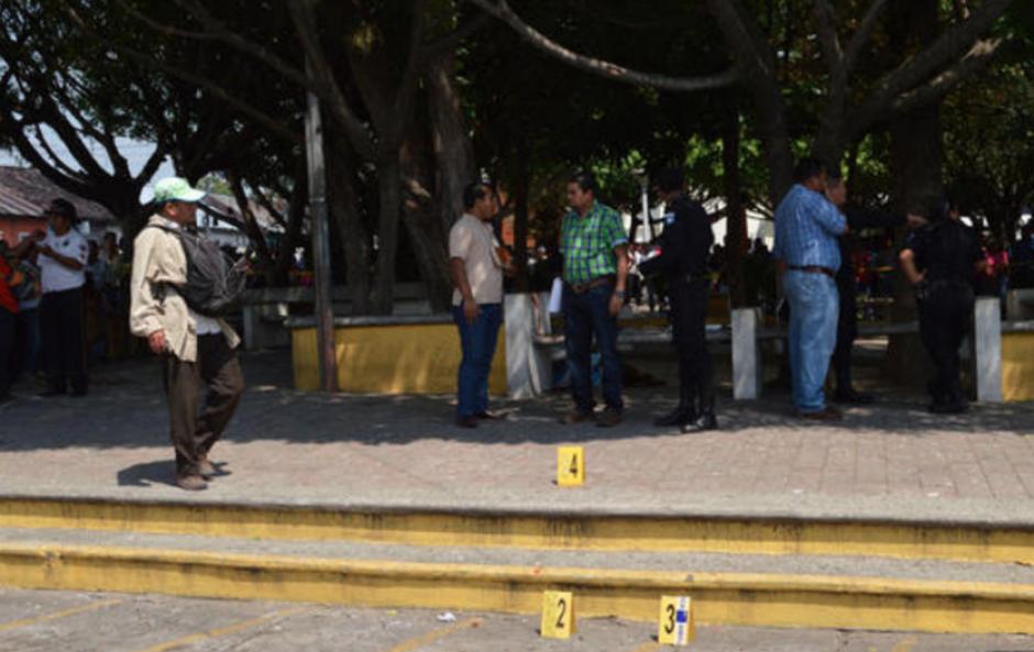 Los periodistas fueron abatidos a tiros en Mazatenango, Suchitepéquez. (Foto: Julio Rodas/Nuestro Diario)