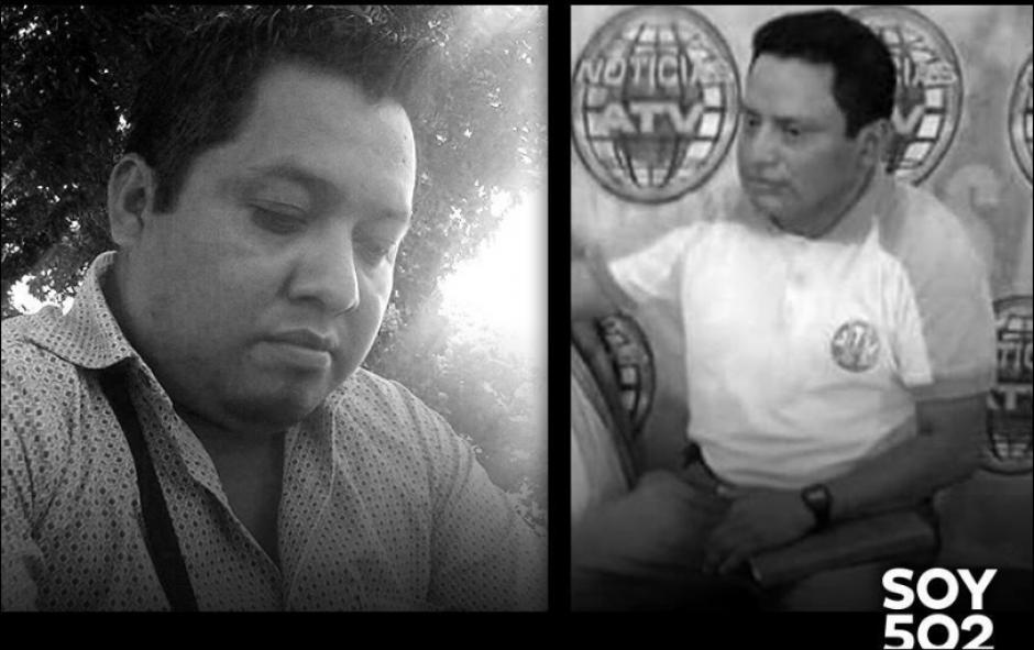 Danilo López (I), corresponsal para Prensa Libre, y Federico Salazar (d), de Nuevo Mundo, fueron asesinados en marzo de 2015. (Foto: Archivo/Soy502)