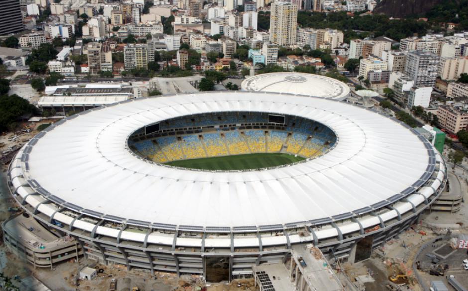 Así se ve el Maracaná actualmente, después de tres reformas (Foto: Wikipedia)