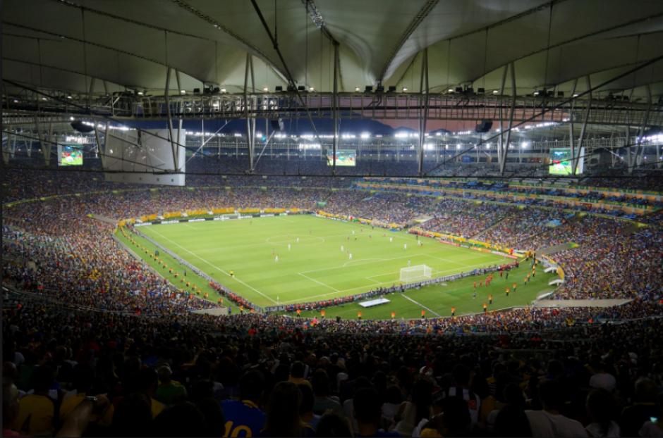El interior del estadio donde se jugará la final de fútbol (Foto: Wikipedia)