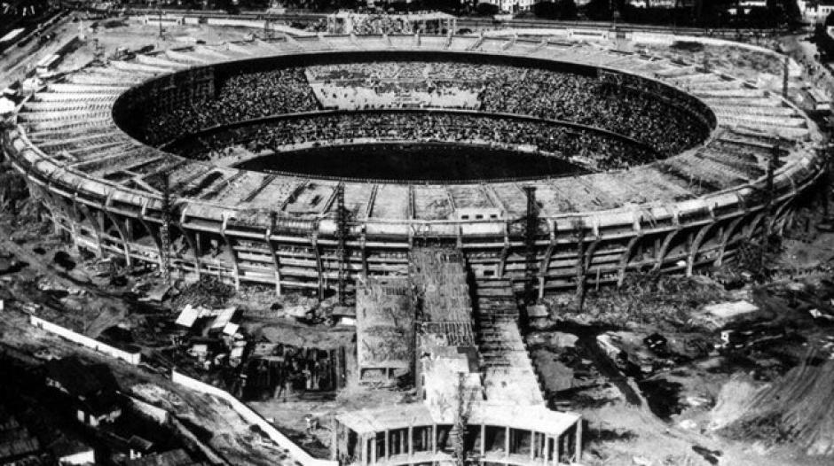 Así era el Maracaná en 1950, cuando lo inauguraron (Foto: FIFA.com)