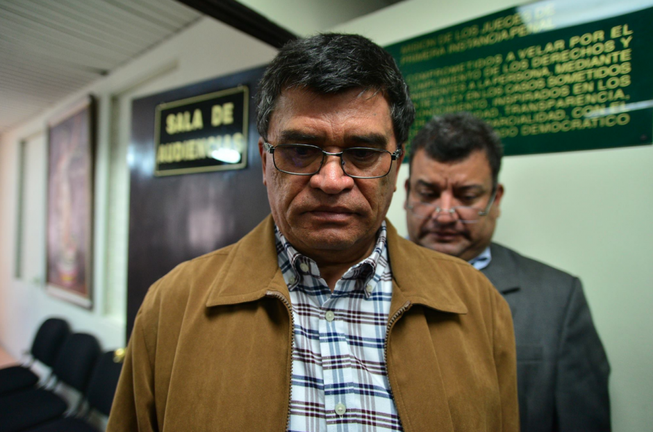 El exjefe edil de Chinaulta recibió una condena por los delitos de abuso de autoridad y concusión. (Foto: Wilder López/Soy502)