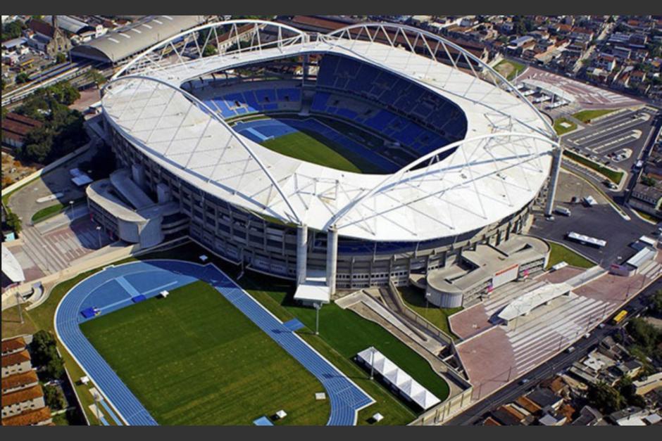 Vista aérea del estadio Joao Havelange (Foto: Wikipedia)