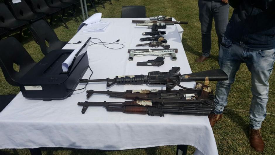 Las armas corresponden a procesos judiciales que ya fueron concluidos. (Foto: OJ)
