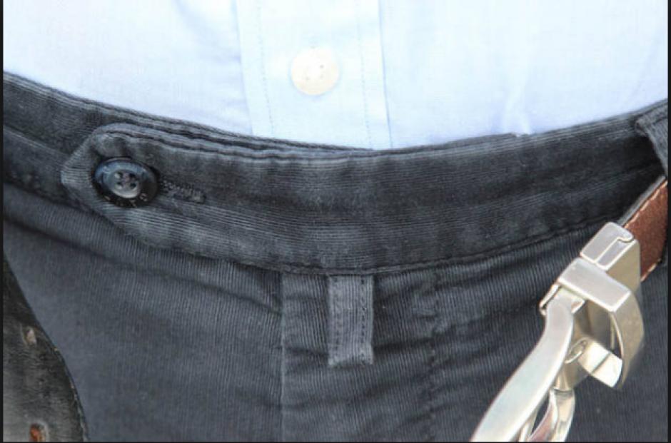 El uso de ese pequeño lazo en el pantalón fue revelado. (Foto: vestirseporlospies.es)