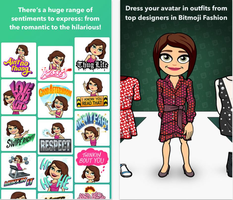 Puedes descargar la app gratis de Google Play y App Store. (Captura de pantalla: Bitmoji)