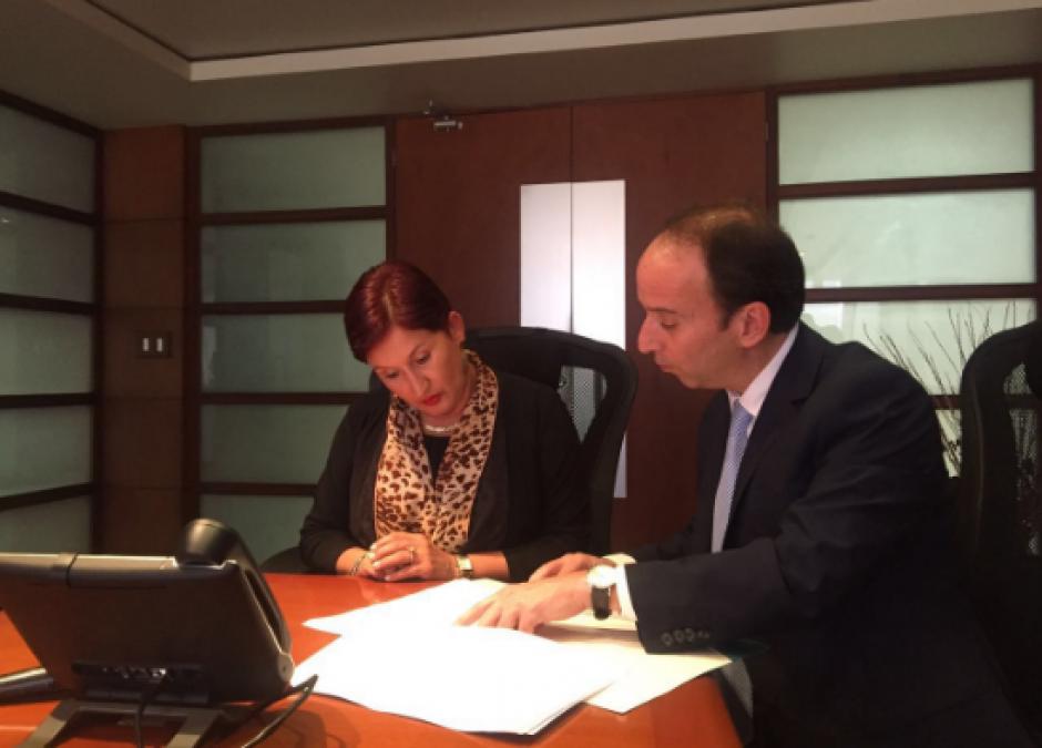El procurador de los Derechos Humanos, Jorge de León Duque, informa sobre el proceso. (Foto: PDH)