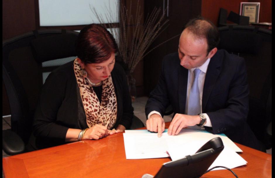 En una reunión con Thelma Aldana se notifica de las medidas. (Foto: MP)