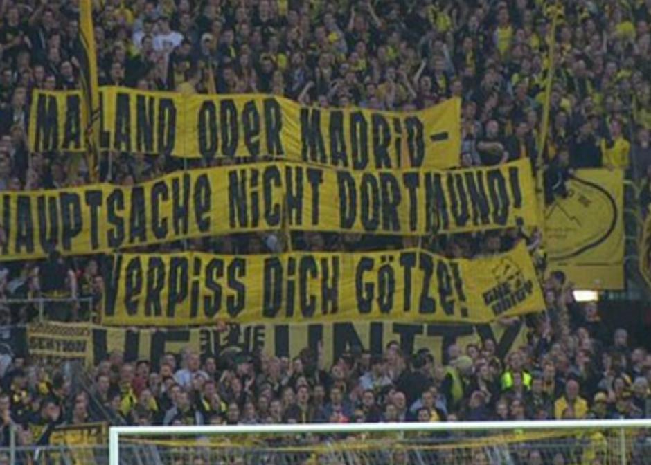 """""""Milán o Madrid, lo importante es que no sea Dortmund"""". (Twitter)"""