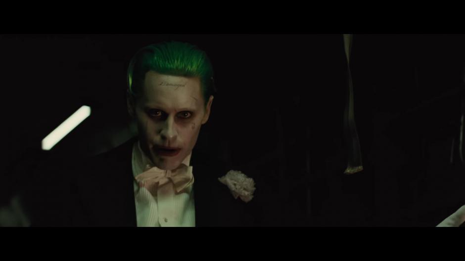 Jared Leto es The Joker.  (Foto: Warner Bros. Pictures)