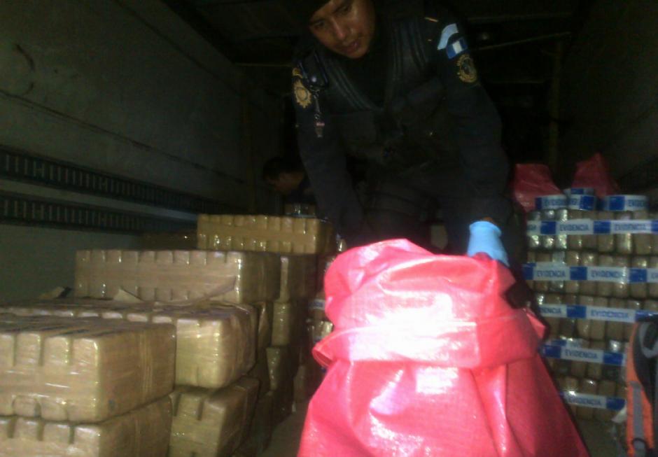 La policía montó un operativo por una denuncia anónima. (Foto: PNC)