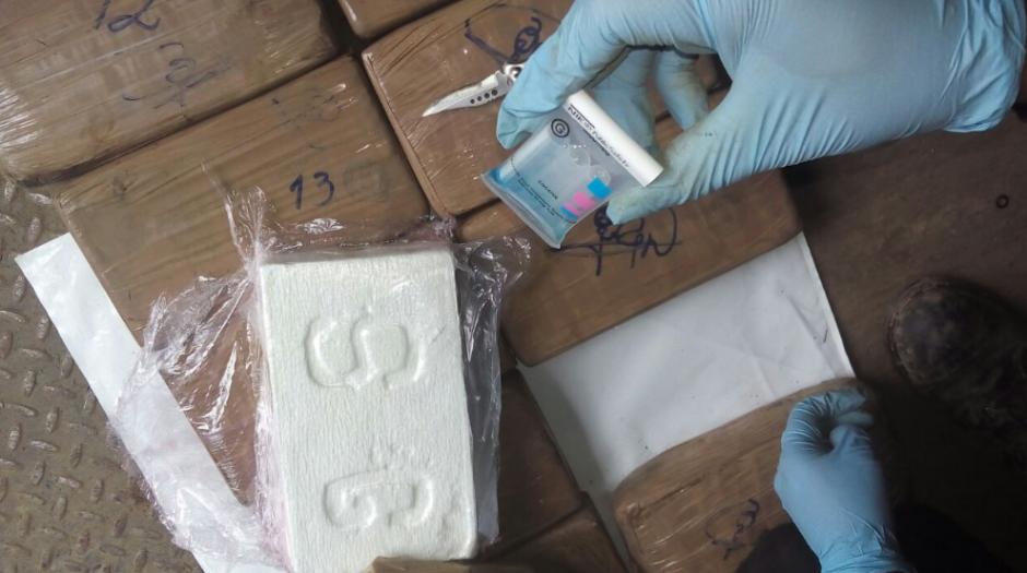 Los análisis dieron positivo de cocaína. (Foto: PNC)