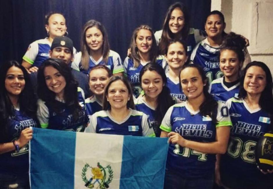 El FlagFootball es poco común en el deporte guatemalteco. (Foto: AGFA)