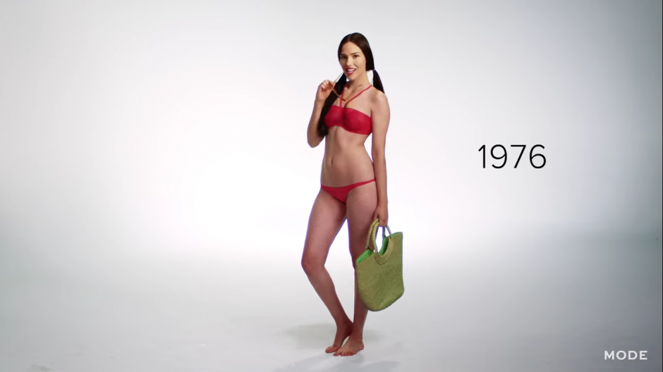 Los 70 tampoco decepcionaron y siguieron dando sorpresas con esta tendencia de verano. (Captura YouTube)
