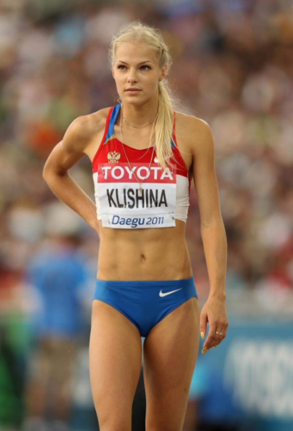 Junto a la famosa Isinbayeva, Klishina demostró que no tenía nada que ver con el dopaje (Foto: AS)