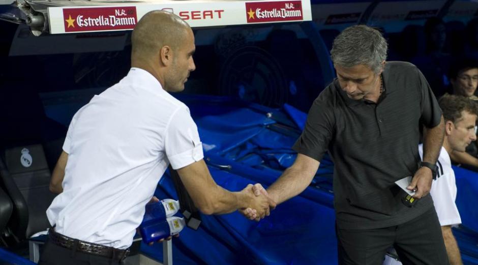 """""""Claro que nos saludaremos""""; respondieron ambos técnicos, pero al técnico portugués le preocupa que sus jugadores se distraigan. (Foto: MD)"""