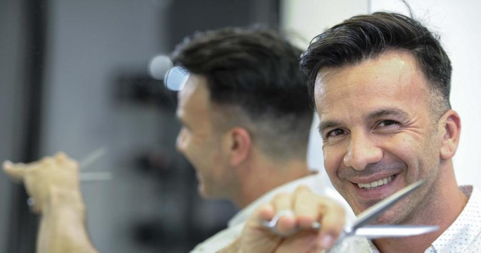 El peluquero comentó que el nuevo estilo de Messi fue del gusto de su esposa. (Foto: @TodaPasion)