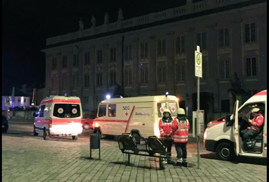 Los medios alemanes reportan un muerto por una explosión. (Foto: @AllNewsDaily)