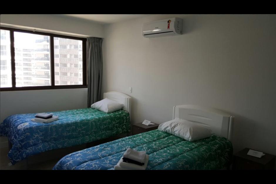 Así son los cuartos donde se hospedarán los atletas guatemaltecos. (Foto: COG)