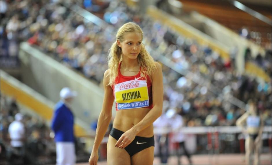 Darya Klishina, otra atleta que estaba limpia. (Eurosport)