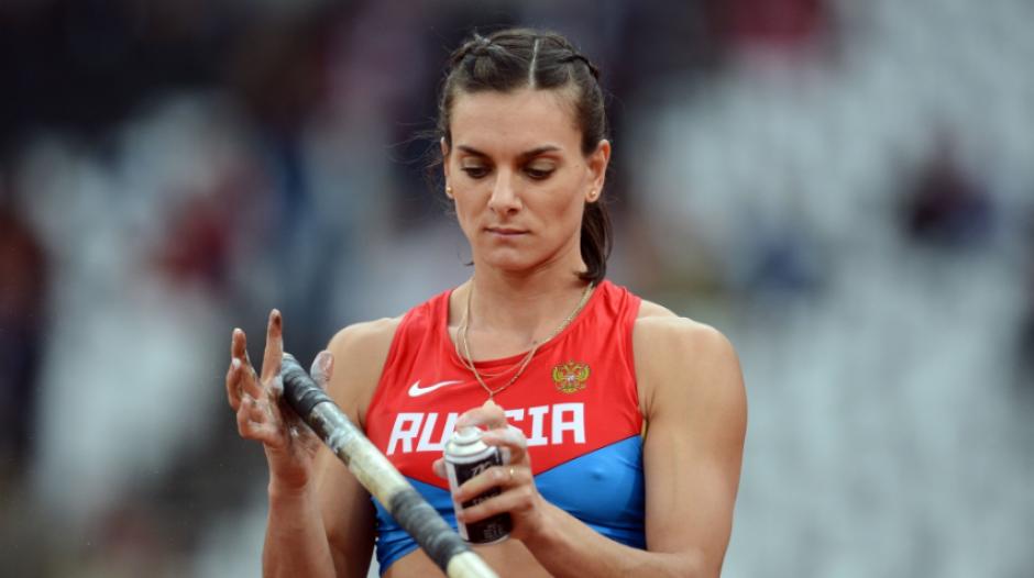 Yelena Isinbayeva, la mejor saltadora con pértiga, no se queda fuera de Río. (Eurosport)