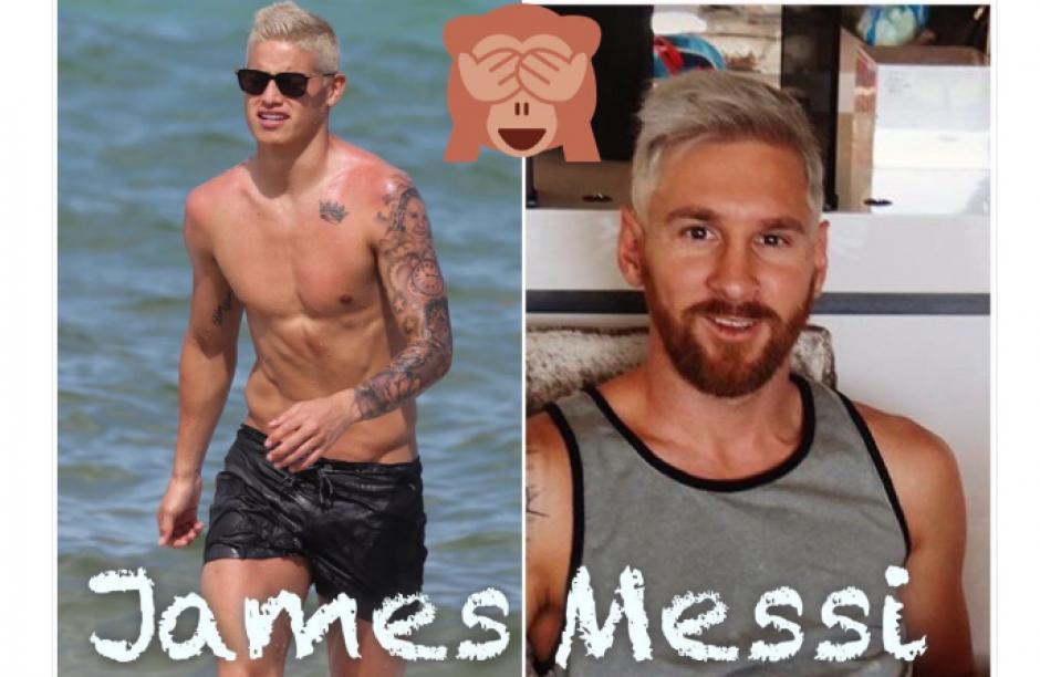"""También subieron """"memes"""" con la imagen de James Rodríguez. (Foto: mdzol.com)"""