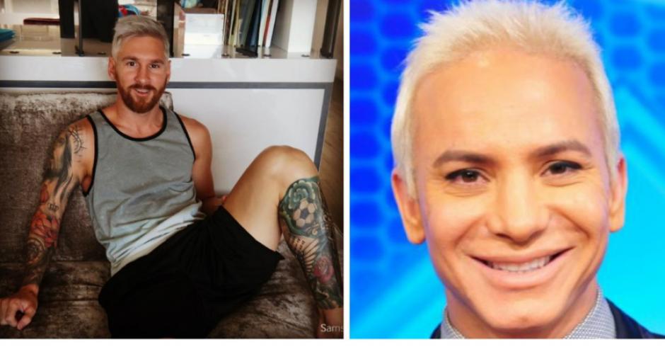 Y también Messi fue comparado con presentadores de televisión. (Foto: mdzol.com)
