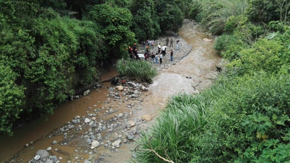 El cadáver del motorista José de León fue localizado esté domingo. (Foto: PampichiNews/Twitter)