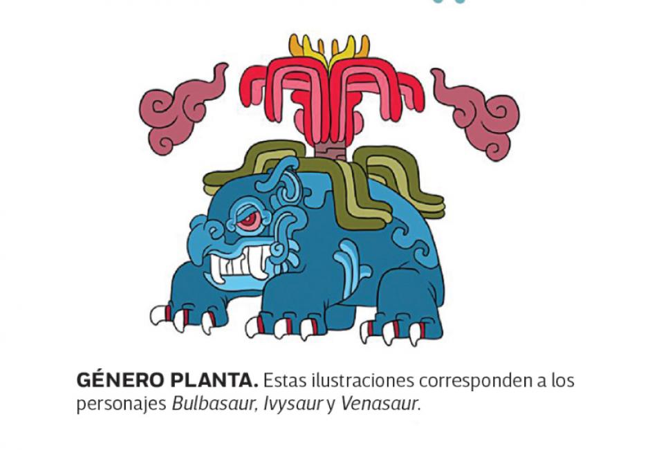 El Género Planta también coloca a Venasaur. (Foto: excelsior.com.mx)