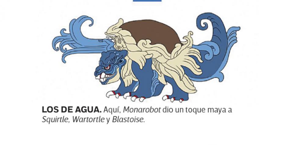 La última evolución de Squirtle, Blastoise. (Foto: excelsior.com.mx)