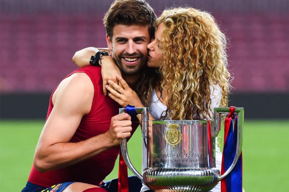 El catalán es 10 años menor que Shakira, de 39 años (Foto: FCB)