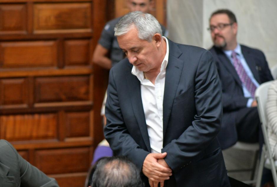 Durante la audiencia, se señaló que Otto Pérez tiene una empresa que fue contratada por la Municipalidad de Mixco. (Foto: Wilder López/Soy502)