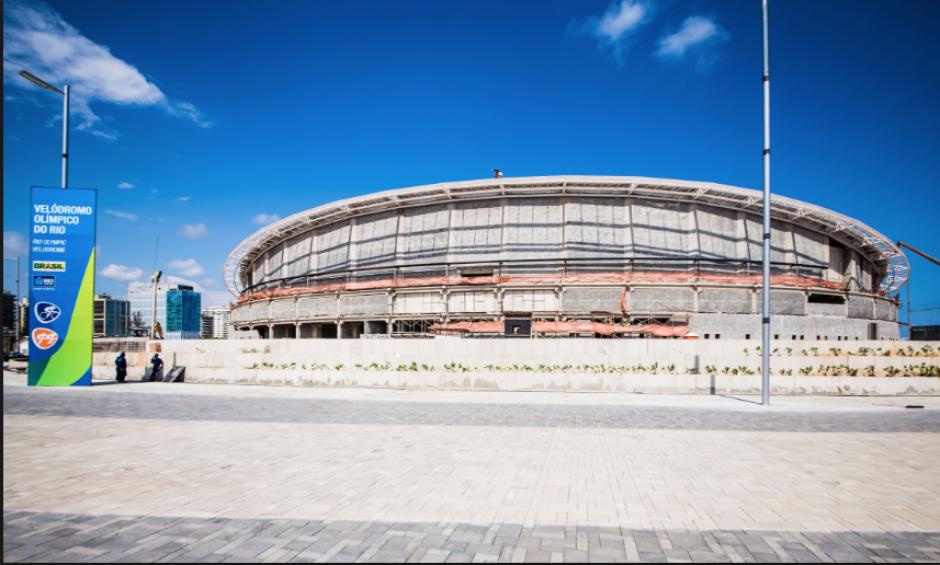 El Velódromo Olímpico de Río, donde se hará el ciclismo de pista (Río 2016.com)