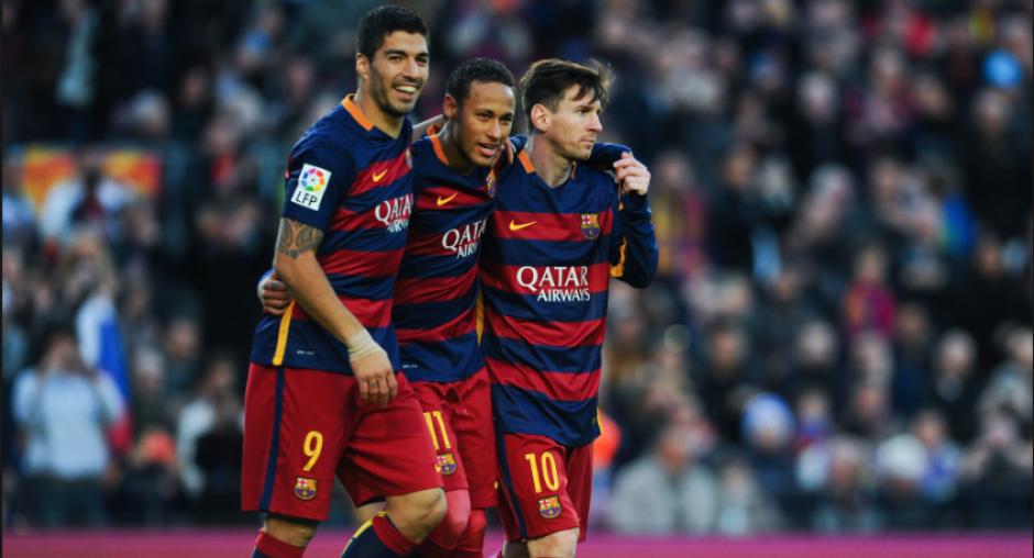 "El Barça sigue sin encontrarle descanso a la ""MSN"". (Twitter)"