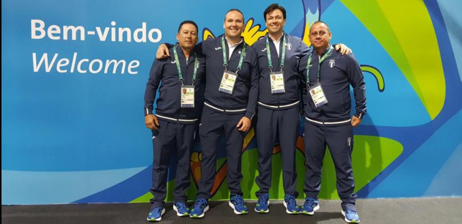 El equipo de tiro fue el primero en llegar a Río. (Foto: COG)